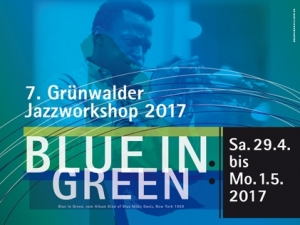 Blue in Green Poster 2017.indd